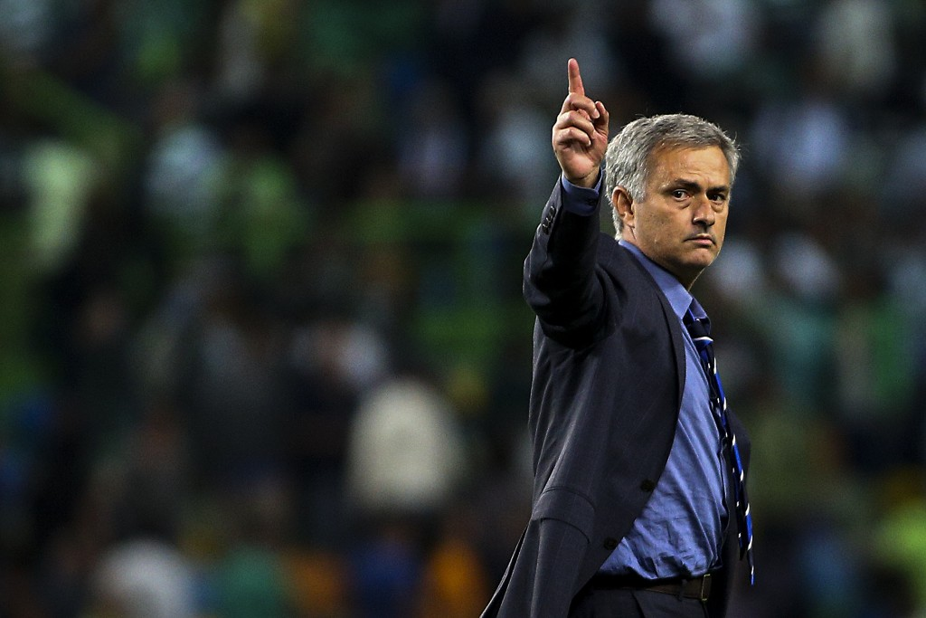 José Mourinho said despite the win over Sporting, Chelsea are not yet in a comfortable position