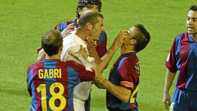 zidane and enrique